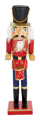 NEW! CTM INTERNATIONAL Drumming Nutcracker Christmas Decoration 15