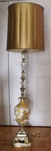 Magnifique lampe de salon des années 1940-1950