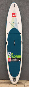 DEMO Red Paddle Co 12-6 Explorer Inflatable Stand Up Paddleboard