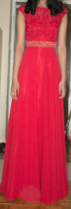 Ladies / Girls Prom Dress - Red in Color used only 1 day