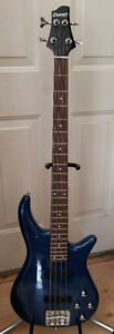 Awesome 24-fret, 4-string bass W/active pickups