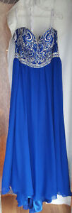 Tiffany Prom Dress - Electric Blue