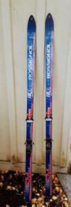 Rossignol Equipe downhill ski's with bindings