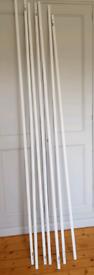 12mm Wood Quadrant Moulding trim primed white 7 x app. 2.4m