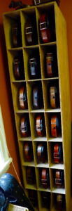 Violins, new ones and old ones over 60 of them