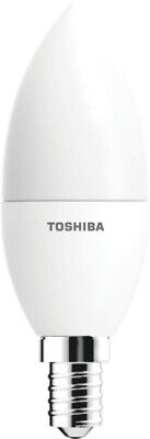Lot 10X Ampoule Toshiba LED filament C35 E14 6W Dimmable