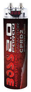 BOSS Audio CPRD2 2 Farad Capacitor