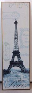 Toile représentant la tour Eiffel, Paris