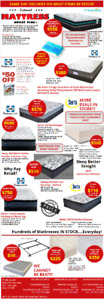NATIONAL MATTRESS OUTLET MARKHAM - BEST PRICES ON BRAND NAMES