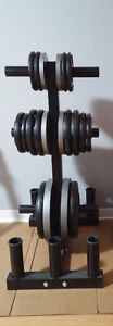 220LBS of Olympic Weight Plates