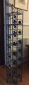 CD Stand - Black Wrought Iron