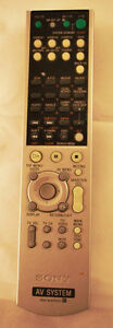 Original-Sony-RM-AAP001-A-V-System-Remote-For-HT-9900M-HT-5950D Kitchener / Waterloo Kitchener Area image 1