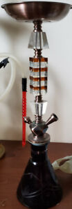 Hookahs with two hose ports .  Good Condition