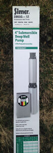 NEW/NEVER USED 1HP Deep Well Submersible Pump w/Control Box