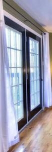 34 x 79 Black Steel Clad Doors (2)