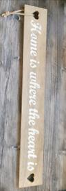 Decorative home plaque
