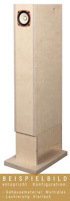 AOS BK 83-SOL Kit de Altavoz Con Caja de Madera MDF Incl....