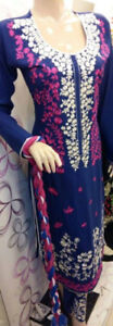 Pakistani shalwar kamez for women