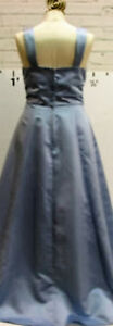 New - Very Attractive Dessert Blue Gown with Wrap --- Size 10 Regina Regina Area image 3