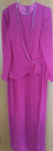NEW - Fushia Pink Long Formal Dress - Size 9/10 (Tag still on)
