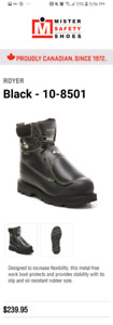 Metatarsal safety boots