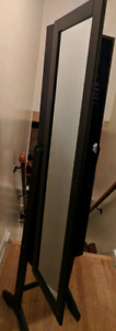 Tall Luxury Mirror Jewelry Cabinet (New Condition)