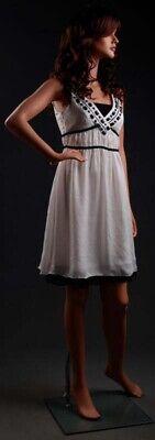 5 10 Tall Fiberglass Female Mannequin Realistic Wig 322534 Lem6