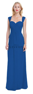 Bill Levkoff BridesMaid Dress- Horizon Blue- Floor Length