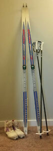 Skis, Boots, and Ski Poles for Sale