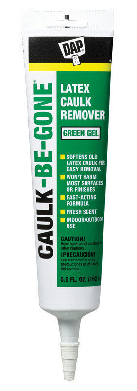 Dap 18026 Caulk Be Gone 12Pk Raw Building Material 5.5 oz. Green