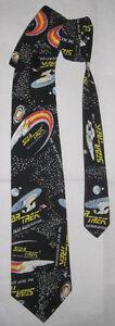 STAR TREK Necktie made in 1994 by RALPH MARLIN 100% Cotton
