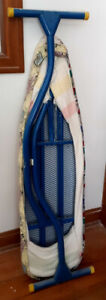 Vintage 1970's Full Size Canadian Made Heavy Duty Ironing Board