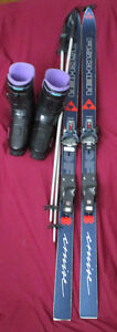 Skis, Poles and Boots