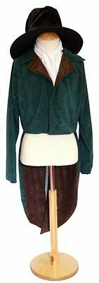 OLIVER/Victorian/Edwardian/Steampunk ARTFUL DODGER TAILCOAT ALL MALE SIZES  (Steampunk Male Costume)
