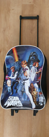 Kids suitcases star wars childs travel bag From a pet and smoke free