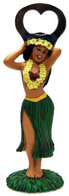 Hawaiian LUAU Bottle Opener Poly Resin Hula Girl Hawaii Party Decor Hawaiiana N