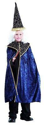 Zaubererkostüm für Kinder Kinderkostüm Merlin Zauberer Magier Kostüm Gr. 110-140