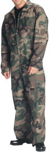 Camouflage Coveralls Size Large