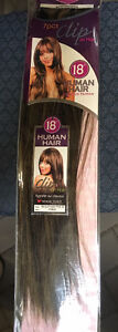 100% Human Hair 7pc 18 inch clip on hair extensions Cornwall Ontario image 7