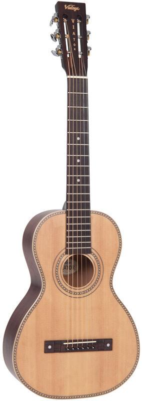 Vintage VTR800PB 'Viator' Paul Brett Signature Travel Guitar inc Gigbag
