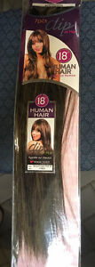 100% Human Hair 7pc 18 inch clip on hair extensions Belleville Belleville Area image 7