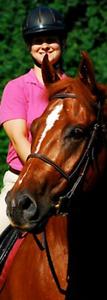 Horse training & horse riding, English & Western riding lessons!