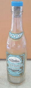 Antique bottle Chateau Tanunda Brandy