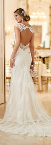 Stella and York - Romantic lace wedding dress Size 8