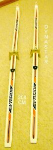 GREAT PAIR OF CROSS COUNTRY 3 PIN WAXLESS SKIS