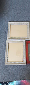 Set of 2 - 8 x 10 picture frames- good condition