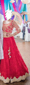 Indian Wedding Dress (Lengha) for sale (The New Delhi Company)