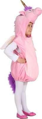 �m Pony rosa Weste Plüsch Kostüm Einhornweste Pferd Unicorn (Rosa Pferd Kostüm)