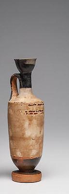Ancient Attic Lekythoi Greece Ca. 5th century B.C.