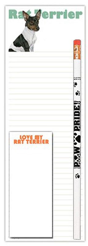 Rat Terrier Notepad & Pencil Gift Set